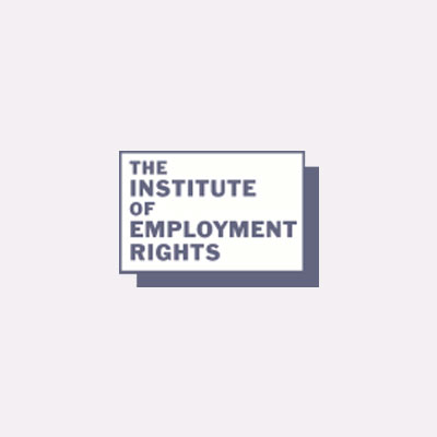 The Institute of Employment Rights Logo - TUCG